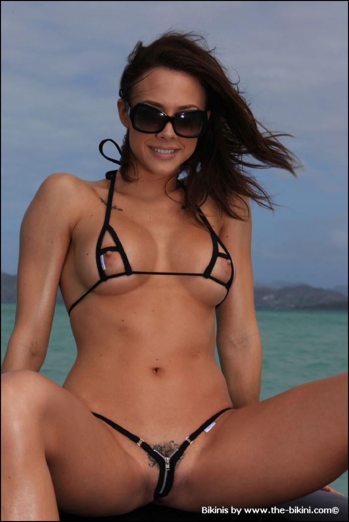 sexy women in tiny bikini