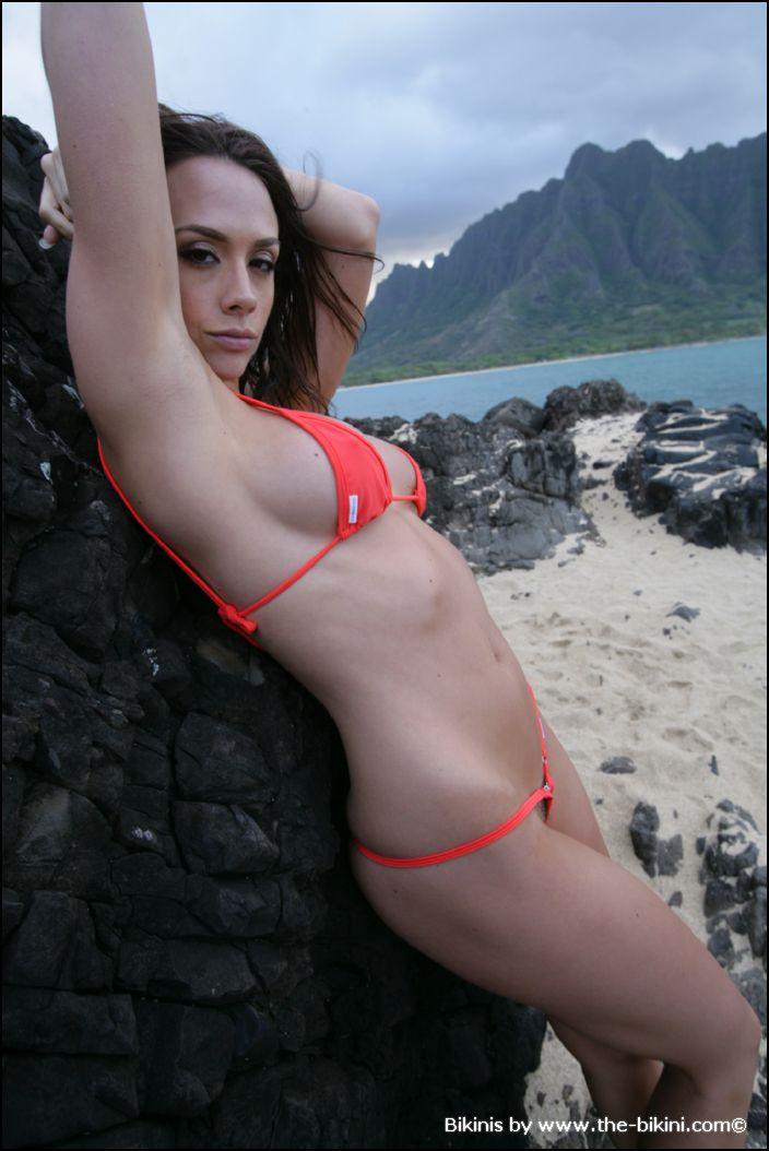 Licked clit bikini