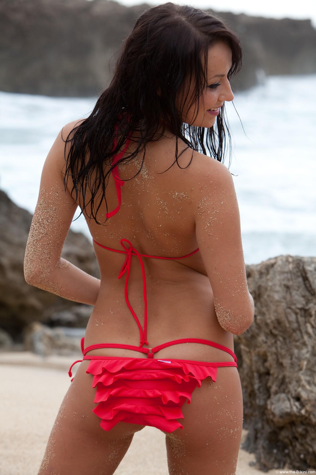 back bikini Ruffle
